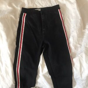 High waisted black jeans from Zara